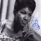 ARETHA FRANKLIN SIGNED PHOTO 8X10 RP AUTOGRAPHED PICTURE *