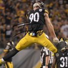 TJ WATT SIGNED PHOTO 8X10 RP AUTOGRAPHED * PITTSBURGH STEELERS FOOTBALL !