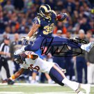 TODD GURLEY SIGNED PHOTO 8X10 RP AUTOGRAPHED LA RAMS FOOTBALL !