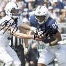 MILES SANDERS & TRACE MCSORLEY SIGNED PHOTO 8X10 RP AUTOGRAPHED PENN STATE