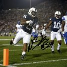 MILES SANDERS SIGNED PHOTO 8X10 RP AUTOGRAPHED PENN STATE NITTANY LIONS