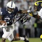 MILES SANDERS SIGNED PHOTO 8X10 RP AUTOGRAPHED PENN STATE FOOTBALL