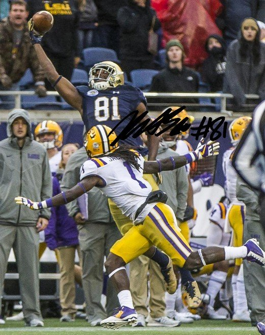 MILES BOYKIN SIGNED PHOTO 8X10 RP AUTOGRAPHED * NOTRE DAME FOOTBALL !