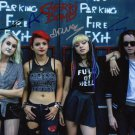 HEY VIOLET FULL BAND SIGNED PHOTO 8X10 RP AUTOGRAPHED RENA & NIA LOVELIS + ALL