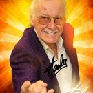 STAN LEE AUTOGRAPHED SIGNED PHOTO 8X10 RP SIGNED PICTURE MARVEL COMICS