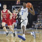 RJ BARRETT SIGNED PHOTO 8X10 RP AUTOGRAPHED DUKE BASKETBALL
