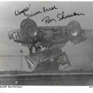 RON SHUMAN SIGNED PHOTO 8X10 RP AUTOGRAPHED RACE CAR DRIVER