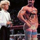 RICK RUDE SIGNED PHOTO 8X10 RP AUTOGRAPHED WWF WWE WRESTLING !