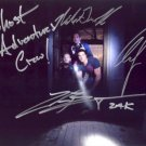 GHOST ADVENTURES GROUP CAST SIGNED PHOTO 8X10 RP AUTOGRAPHED ZAK BAGANS