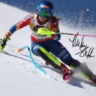 MIKAELA SHIFFRIN SIGNED PHOTO 8X10 RP AUTOGRAPHED WINTER OLYMPICS SKIING