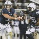 TRACE MCSORLEY & SAQUON BARKLEY SIGNED PHOTO 8X10 RP AUTOGRAPHED PENN STATE