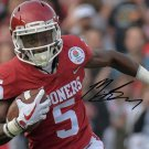"""MARQUISE """" HOLLYWOOD """" BROWN SIGNED PHOTO 8X10 RP AUTOGRAPHED OKLAHOMA SOONERS"""