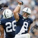 TRACE MCSORLEY SAQUON BARKLEY SIGNED PHOTO 8X10 RP AUTOGRAPHED PENN STATE FOOTBALL
