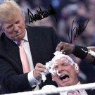DONALD TRUMP & VINCE MCMAHON SIGNED PHOTO 8X10 RP AUTOGRAPHED WWE WRESTLING