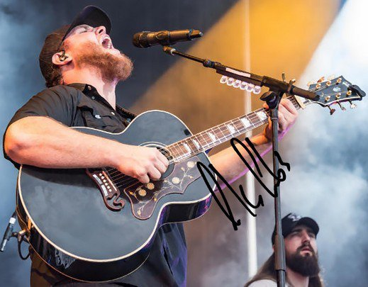 LUKE COMBS SIGNED PHOTO 8X10 RP AUTOGRAPHED COUNTRY MUSIC ARTIST