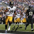 JUJU SMITH SCHUSTER SIGNED PHOTO 8X10 RP AUTOGRAPHED STEELERS