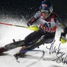 MIKAELA SHIFFRIN SIGNED AUTOGRAPHED 8X10 RP WINTER OLYMPICS