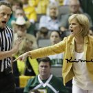 KIM MULKEY SIGNED PHOTO 8X10 RP AUTOGRAPHED BAYLOR BEARS BASKETBALL *