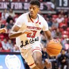JARRETT CULVER SIGNED PHOTO 8X10 RP AUTOGRAPHED TEXAS TECH BASKETBALL