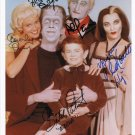 THE MUNSTERS FULL CAST SIGNED PHOTO 8X10 RP AUTOGRAPHED FRED GWYNNE + ALL
