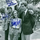 PETER MAYHEW CARRIE FISHER JOHN HAMILL SIGNED PHOTO 8X10 RP STAR WARS