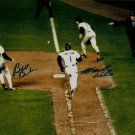 BILL BUCKNER MOOKIE WILSON SIGNED PHOTO 8X10 RP AUTOGRAPHED 1986 WORLD SERIES