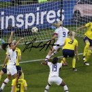 LINDSEY HORAN SIGNED PHOTO 8X10 RP AUTOGRAPHED FIFA WORLD CUP SOCCER GOAL !