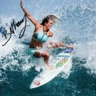 BETHANY HAMILTON SIGNED PHOTO 8X10 RP AUTOGRAPHED SURFING SURFER
