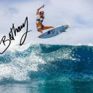 BETHANY HAMILTON SIGNED PHOTO 8X10 RP AUTOGRAPHED SURFING SURFER *