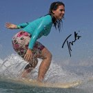 TULSI GABBARD SIGNED PHOTO 8X10 RP AUTOGRAPHED DEMOCRAT PARTY SURFING