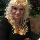 BETH CHAPMAN SIGNED PHOTO 8X10 RP AUTOGRAPHED DOG THE BOUNTY HUNTER