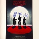 STRANGER THINGS CAST SIGNED PHOTO 8X10 RP AUTOGRAPHED MILLIE BOBBY BROWN