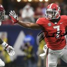 D'ANDRE SWIFT SIGNED PHOTO 8X10 RP AUTOGRAPHED GEORGIA BULLDOGS RUNNING BACK