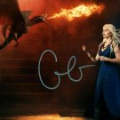 EMILIA CLARKE SIGNED PHOTO 8X10 RP AUTOGRAPHED GAME OF THRONES