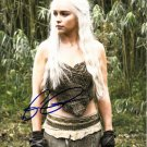 EMILIA CLARKE SIGNED PHOTO 8X10 RP AUTOGRAPHED * GAME OF THRONES