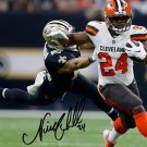 NICK CHUBB SIGNED PHOTO 8X10 RP AUTOGRAPHED CLEVELAND BROWNS FOOTBALL