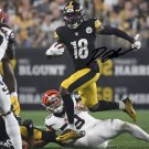 DIONTAE JOHNSON SIGNED PHOTO 8X10 RP AUTOGRAPHED PITTSBURGH STEELERS
