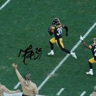 MINKAH FITZPATRICK SIGNED PHOTO 8X10 RP AUTOGRAPHED STEELERS PICK 6