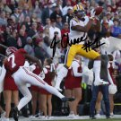 JA'MARR CHASE SIGNED PHOTO 8X10 RP AUTOGRAPHED LSU TIGERS FOOTBALL