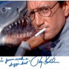 ROY SCHEIDER SIGNED PHOTO 8X10 RP AUTOGRAPHED JAWS