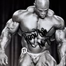 RONNIE COLEMAN SIGNED PHOTO 8X10 RP AUTOGRAPHED MR OLYMPIA