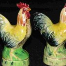 Roosters Salt & Pepper Shakers