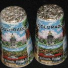 1950s Colorado Landmarks Salt & Pepper Shakers