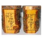 Outhouse Salt & Pepper Shakers (vintage Souvenirs Black Hills SD)