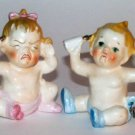 Angry Baby, Happy Baby Salt & Pepper Shakers