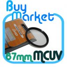 NEW 67mm MC UV Filter MCUV Multi coated for DSLR DC Lens Canon Nikon Sony 67 mm