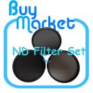 NEW 55mm ND2 + ND4 +ND8 Filter Neutral Density ND 2 4 8 for DSLR DC Camera Lens (**Free RA)