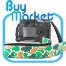DSLR Canon Nikon Sony Camera Colorful Green Forest Pattern Shoulder Neck Belt Strap Grip Straps #19