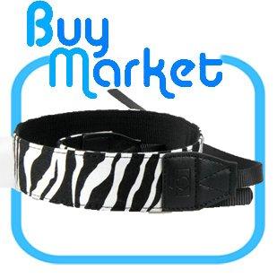 DSLR Canon Camera Colorful Zebra Vein Shoulder Neck Strap Grip Straps Belt #06