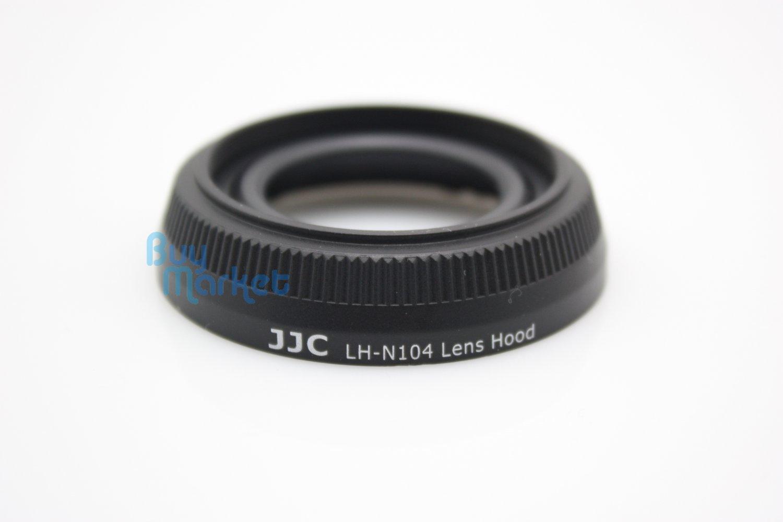 New JJC LH-N104 Black Lens Hood for Nikon 18.5mm F1.8 Replaces HB-N104
